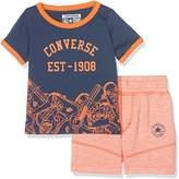Converse Baby Boys' Sneaker Toss Tee Set 12M T-Shirt