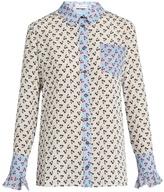 Altuzarra Clovis cherry-print silk shirt