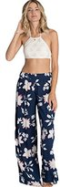 Billabong Juniors Midnight Hour Floral Soft Pant