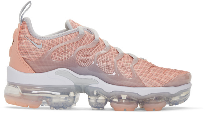 check out a0bbf ec64e Pink Air VaporMax Plus Sneakers