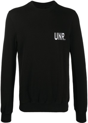 Unravel Project LAX printed sweatshirt
