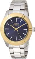 Invicta Men's 'Pro Diver' Quartz Stainless Steel Casual Watch, Color:Silver-Toned (Model: 19457)