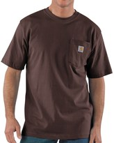 Carhartt Work Wear T-Shirt - Short Sleeve (For Tall Men)