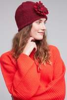 Anthropologie Tricia Wool Flower Hat