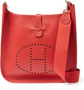 Hermes Women's Vintage Rouge Vif Ardennes Evelyne I GM