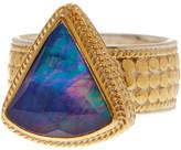 Anna Beck Lapis Detail Embellished Band Ring