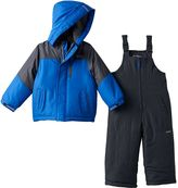 Osh Kosh Boys 4-7 Heavyweight Fleece-Lined Jacket & Bib Snow Pants Snowsuit Set