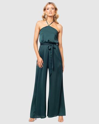 Pilgrim Women's Green Jumpsuits - Hazel Jumpsuit - Size One Size, 14 at The Iconic