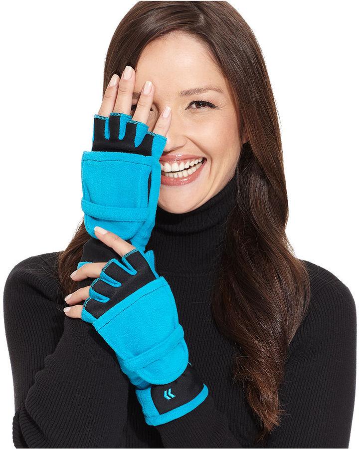 Isotoner Convertible Fingerless Gloves