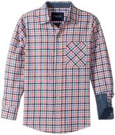 Toobydoo Stylin! Check Flannel Shirt (Infant/Toddler/Little Kids/Big Kids)