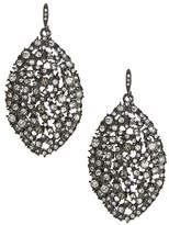 ABS by Allen Schwartz Navette Cluster Drop Earrings
