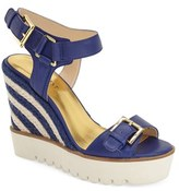 Nine West Women's 'April Shower' Espadrille Platform Wedge Sandal