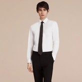 Burberry Slim Fit Stretch Cotton Shirt , Size: 15.5, White