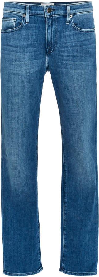 Frame L'Homme Slim Light-Wash Jeans