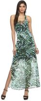 JLO by Jennifer Lopez Women's Lace-Up Halter Dress