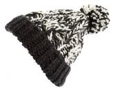 Women's Treasure&bond Stripe Knit Beanie - Black
