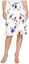 Ellen Tracy Sunburst Pleat Skirt Women's Skirt