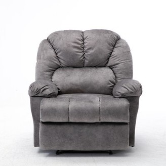 Latitude Run Charday Manual Recliner Body Fabric: Gray