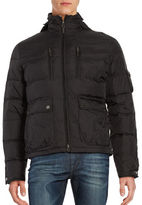 Black Brown 1826 Down Puffer Coat