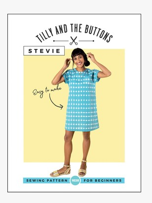 Tilly and the Buttons Stevie Tunic Dress Sewing Pattern