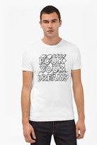 French Connection Your Dreams Slogan T-Shirt