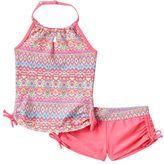 Free Country Girls 4-6x Batik Halter Tankini Swimsuit Set