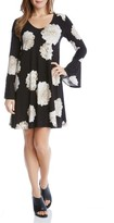 Karen Kane Women's Taylor Floral A-Line Dress