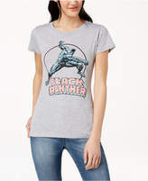Hybrid Juniors' Black Panther Graphic-Print T-Shirt