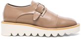 Stella McCartney Odette Faux Leather Monk Straps