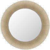 Kartell All Saints Round Mirror - Metallic Gold
