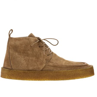 Marsèll Cassapara Boots In Suede With Rubber Sole