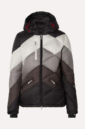 Perfect Moment Super Day 2 Hooded Quilted Jacket - Black