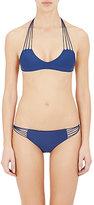 Mikoh Women's Barbados Bikini Top-NAVY, BLUE