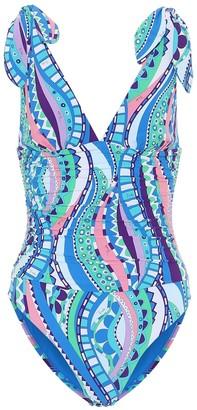 Emilio Pucci Beach Printed swimsuit