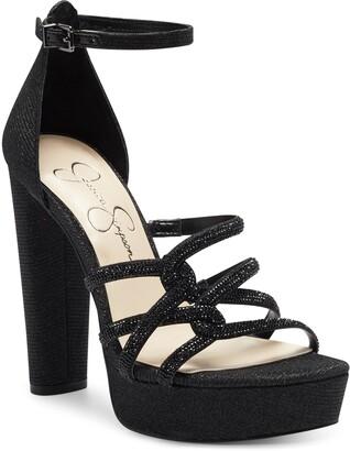 Jessica Simpson Ivee Ankle Strap Platform Sandal