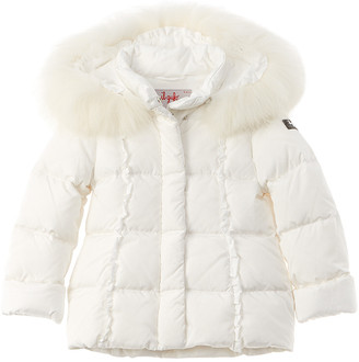 Il Gufo Ruffle Down Jacket