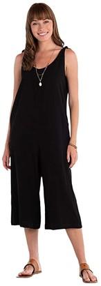 Fresh Produce Avila Capri Jumpsuit (Black) Women's Jumpsuit & Rompers One Piece