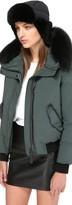 Mackage Mezlan Unisex Light Weight Down Aviator Hat In Black