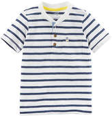 Carter's Short Sleeve Henley Shirt - Baby Boys