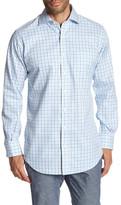 Peter Millar Nanoluxe Twill Tattersal Classic Fit Shirt