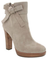 Nina Nell Leather and Suede Ankle Boots