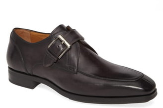 Magnanni Allen Diversa Monk Strap Shoe