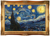 Starry Night (Luxury Line) by Vincent Van Gogh (Canvas)