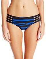 Seafolly Women's Fastlane Multi Strap Hipster Bikini Bottom
