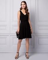 Le Château Knit V-Neck Cocktail Dress