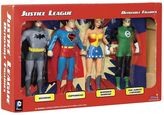 Toysmith DC Comics Justice League Bendable Action Figure Boxed Set by