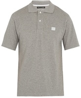 Acne Studios Newark Face Cotton-piqué Polo Shirt