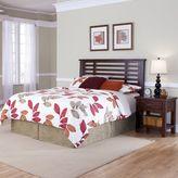 Home styles Cabin Creek 2-pc. King/California King Chestnut Finish Headboard & Nightstand Set