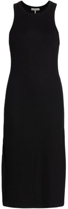 Rag & Bone The Rib-Knit Zip Midi Dress