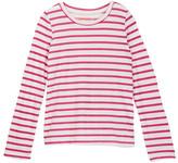 Joe Fresh Striped Long Sleeve Tee (Little Girls & Big Girls)